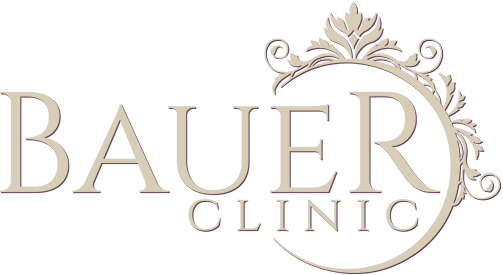 Bauer Clinic AB Gold Logotype